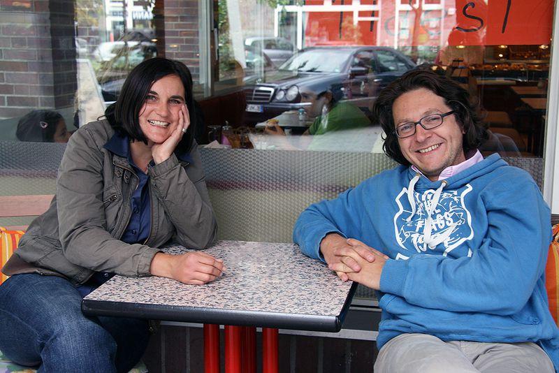 """Tanja Kapp und Lothar Gröschel organisieren seit 2007 die """"Nächste Ausfahrt Wedding""""."""