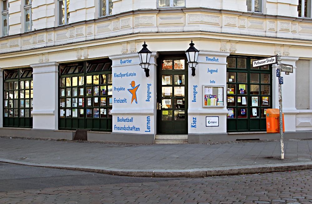 Im TimeOut in der Putbusser Straße finden die meisten Kurse statt.