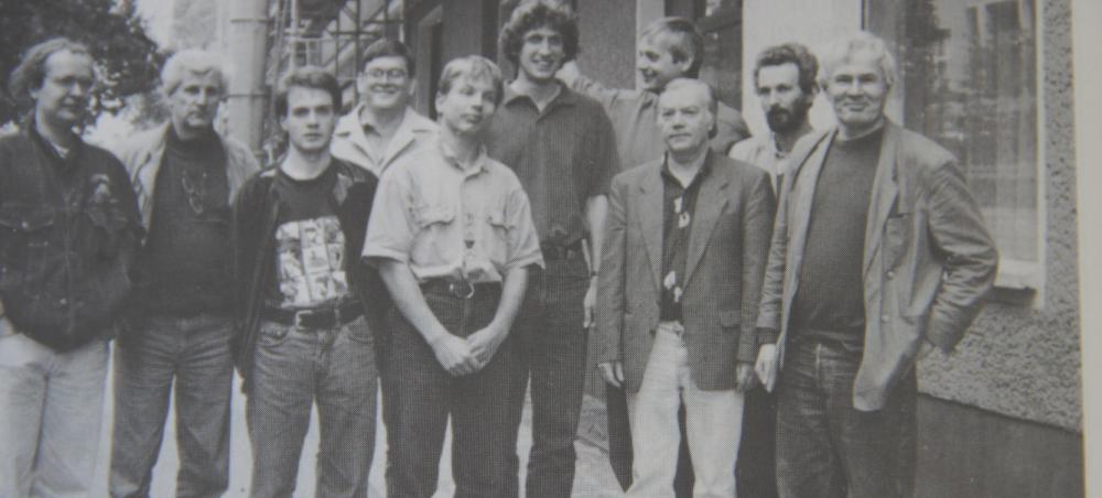 1992: Aufstiegsmannschaft zur 2. Schach-Bundesliga