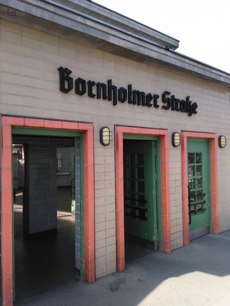 S Bahn Bornholmer Str Zugang