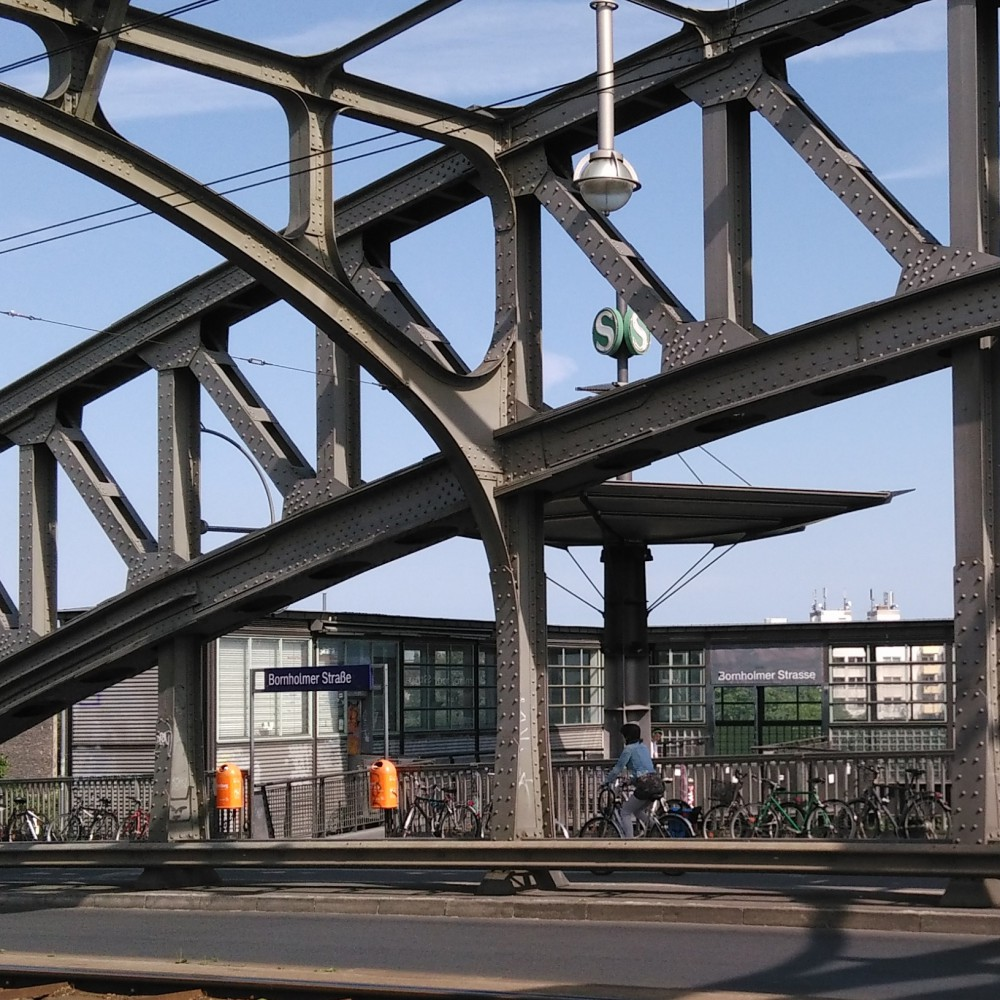 S Bhf Bornholmer neue Zugangsgebäude