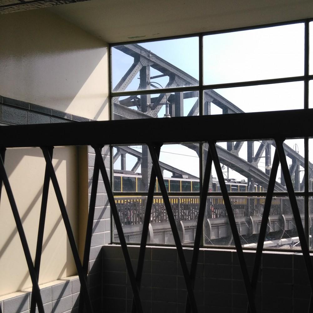 Zugang Bornholmer Str Brücke
