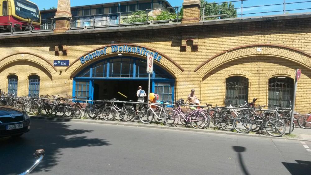 Wollankstraße Zugang