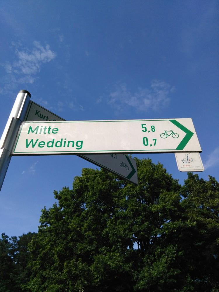 Radweg Berlin Kopenhagen Schild
