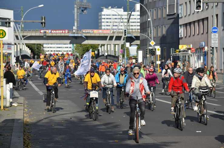 Die adfc Kreisfahrt in Berlin - Foto: adfc