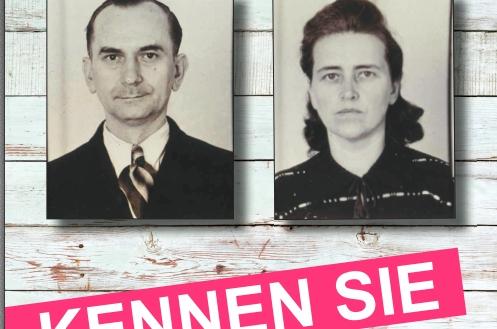 Elise und Otto Hampel - Grafik: SPD Abteilung 16