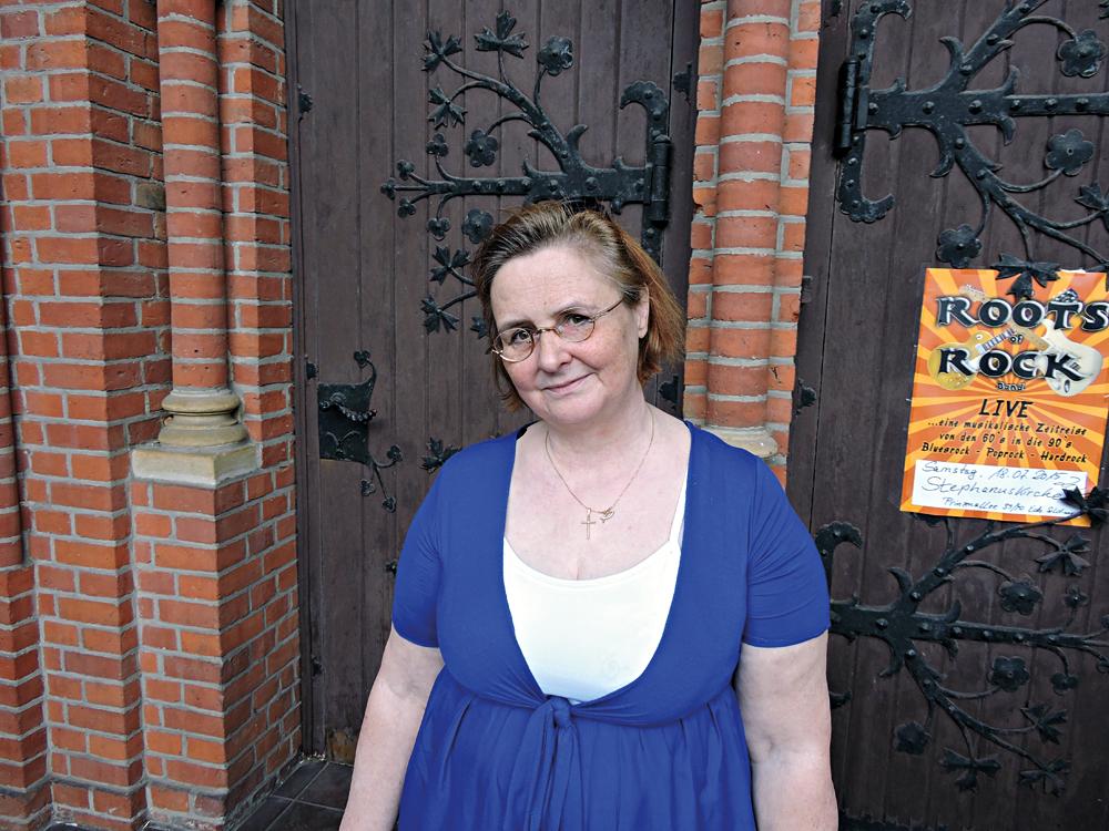 Die Organisatorin des Programms in der Kulturkirche ist Dr. Claudia Niemann. Foto: Alexandra Resch
