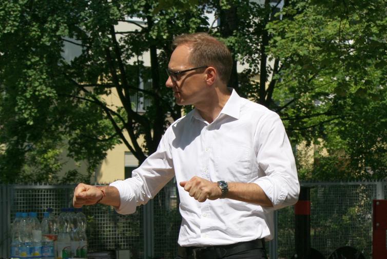 Baustadtrat Carsten Spallek - Foto: Andrei Schnell
