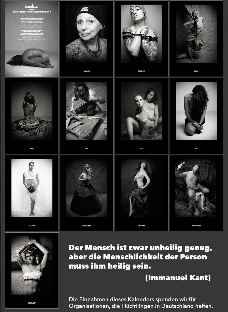 Bitchirelli Fotokalender 2016