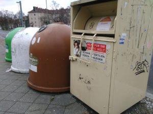Kleiderspende container berlin moabit