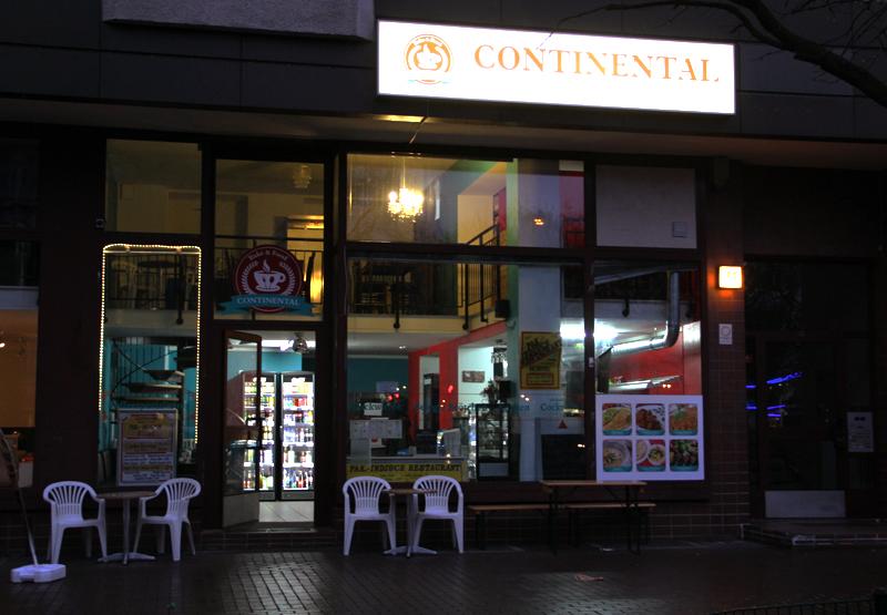 Das Continental in der Brunnenstraße. Foto: Hensel