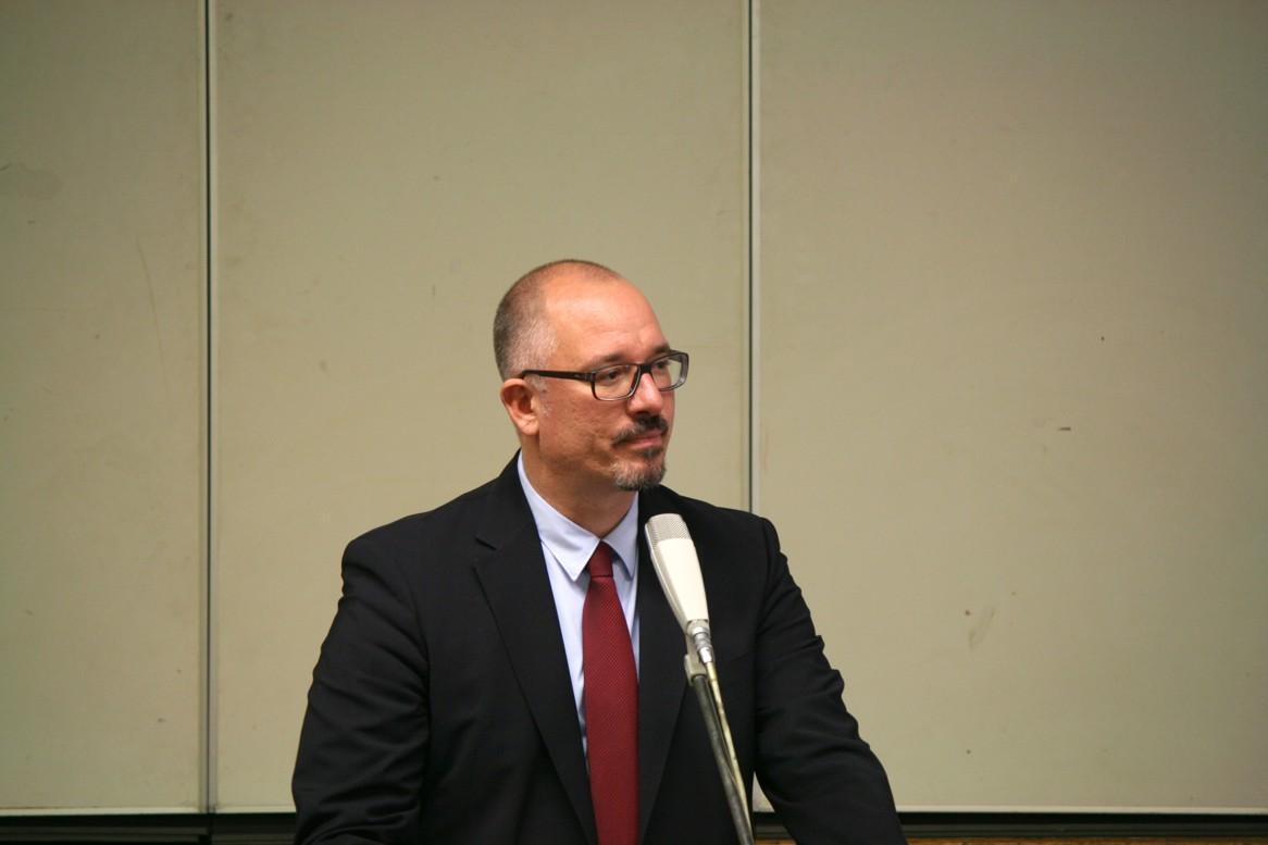 Jan Stöß, der Landesvorsitzende tritt nicht im umkämpften Wahlkreis 1 gegen Henkel und Pop an - Foto Andrei Schnell
