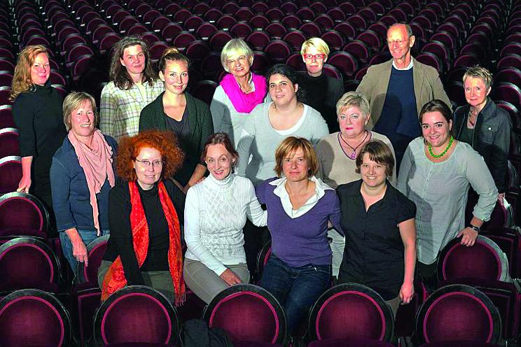 Das Team von KulturLeben Berlin. Foto: Lev Khesin/KulturLeben