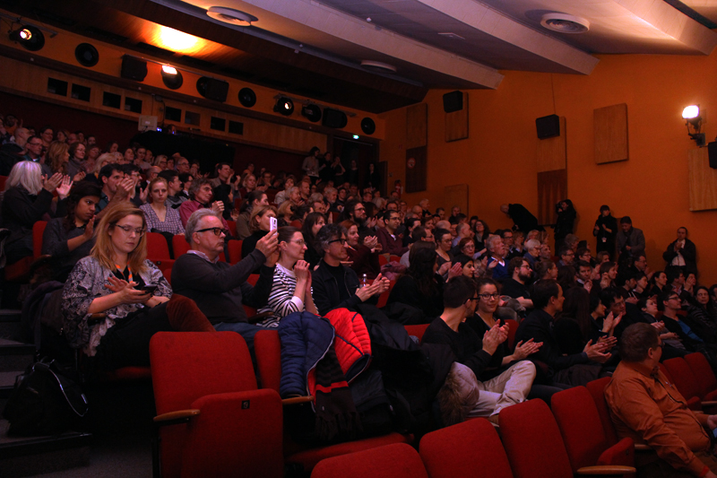 Berlinale Goes Kiez: Im City Kino Wedding. Foto: Hensel