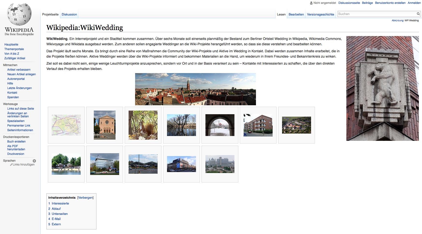 WikiWedding-Projekt