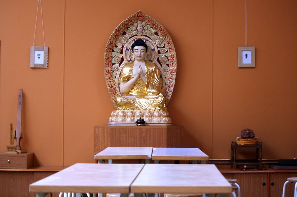 Fo-Guang-Shan Tempel in der Ackerstraße. Foto: Andrei Schnell