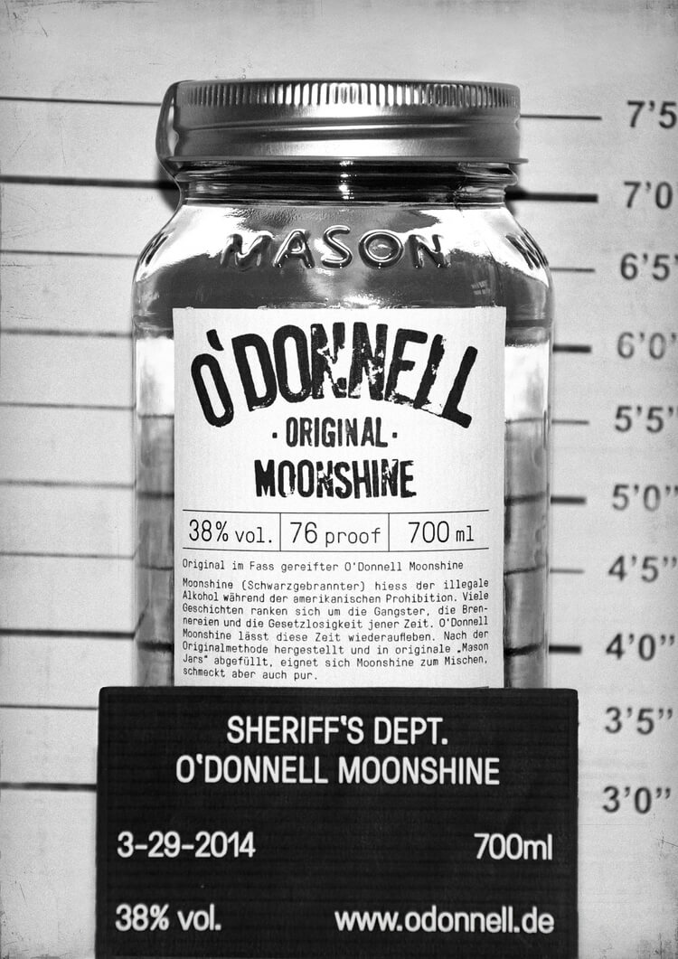 (c) O'Donnell Moonshine