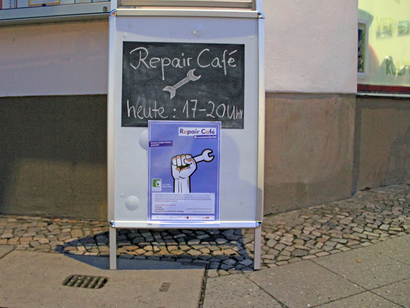 Repair Café im Freizeiteck. Foto: D. Hensel