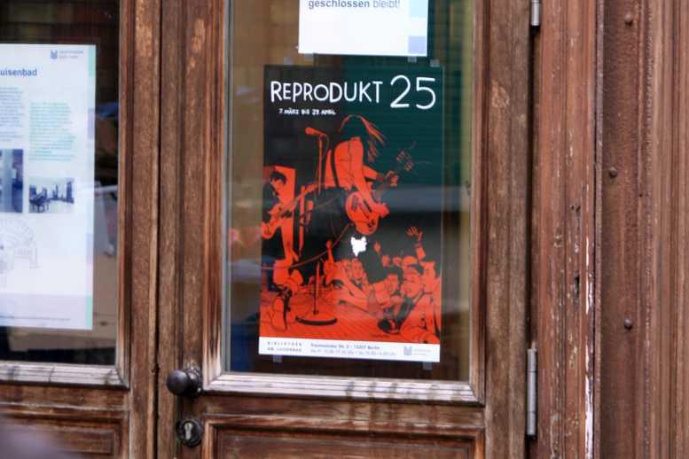 Flyer von Reprodukt. Foto: Andrei Schnell.