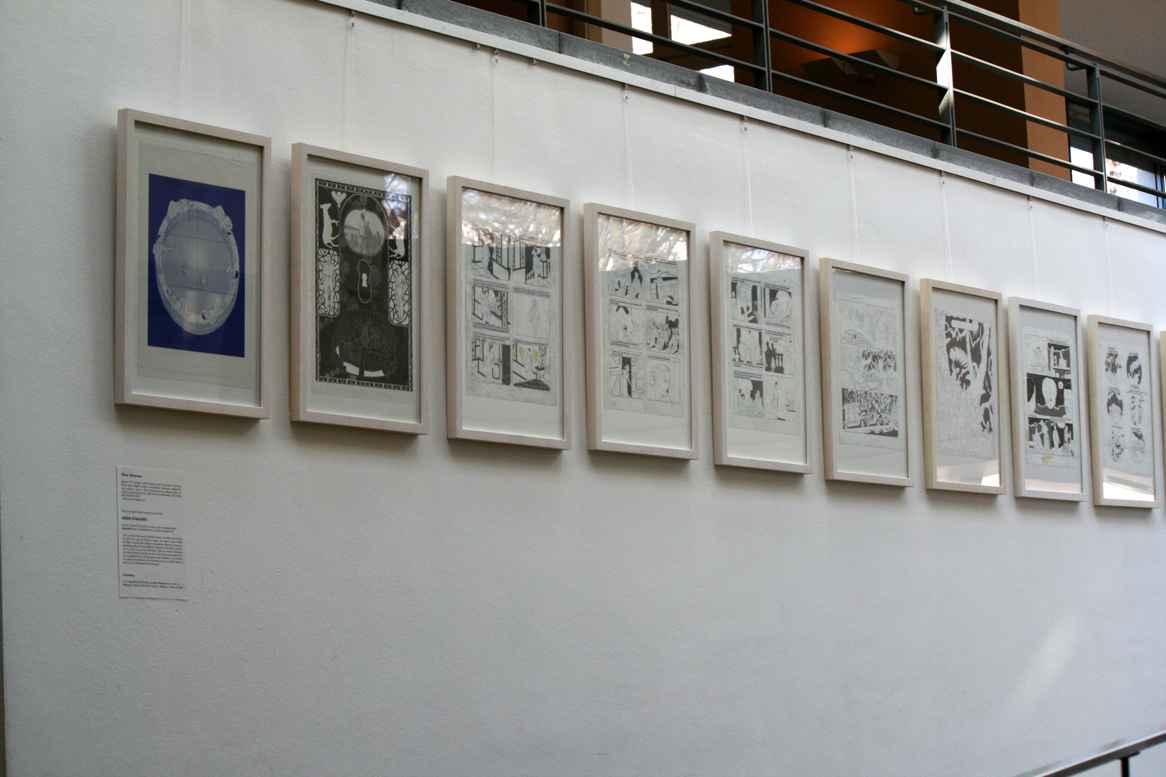 Zeichnungen von Olivier Schrauwen. Foto: Andrei Schnell.