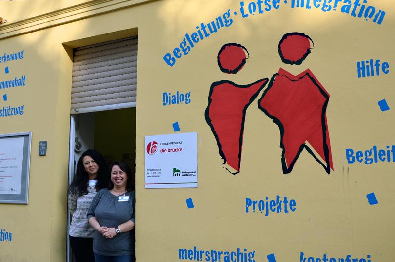 Das Lotsenbüro in der Putbusser Straße. Foto: Michael Becker