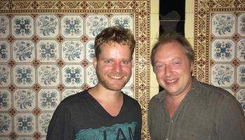 Veranstalter Daniel Gollasch und Frank Sorge