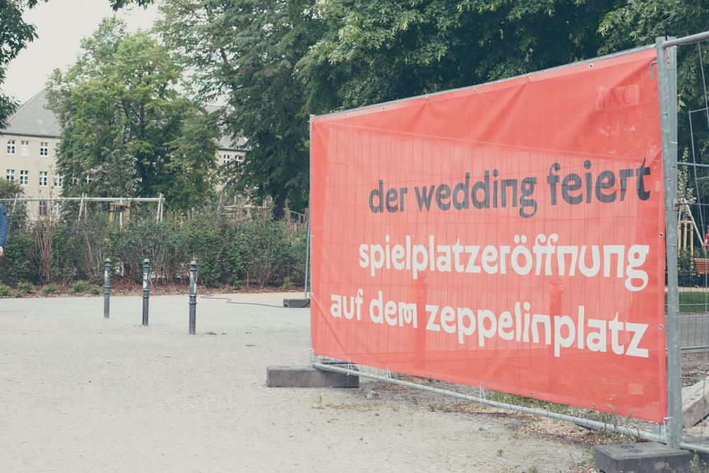 Schild am Zeppelinplatz