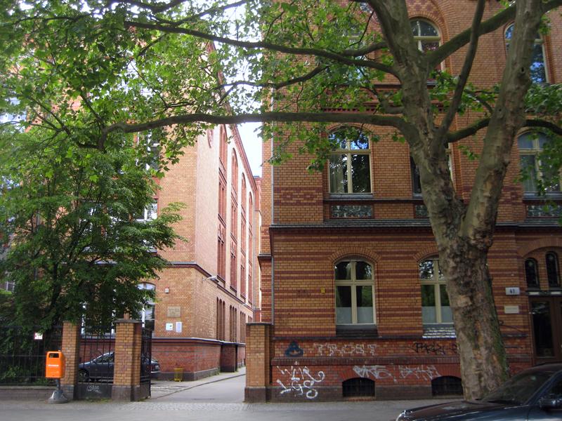 Die Gustav-Falke-Grundschule im Brunnenviertel. Foto: D. Hensel