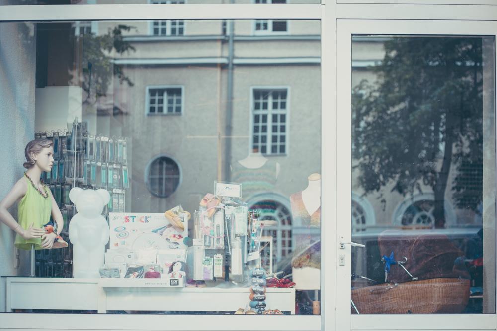 Schaufenster des La Bobine in der Türkenstrasse 16