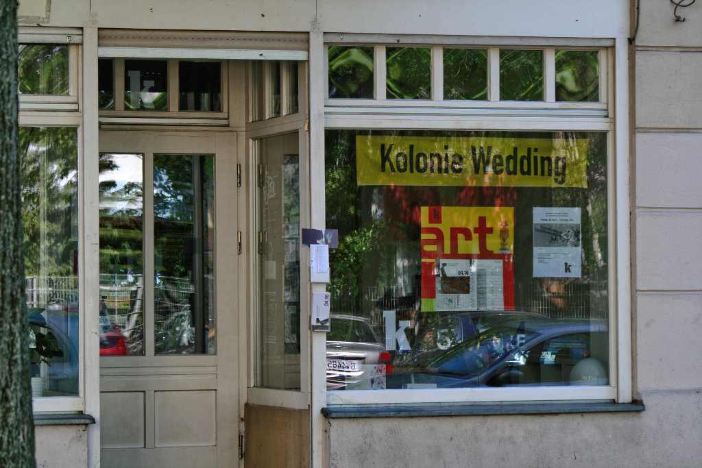 Infoladen in der Soldiner Straße der Kolonie-Wedding. Foto Andrei Schnell.