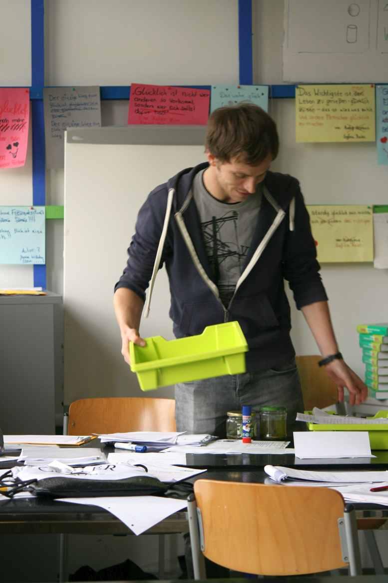 """Lehrer an der Quinoa-Schule, die den Preis """"Ausgezeichneter Ort im Land der Ideen"""" erhielt. Foto Andrei Schnell"""