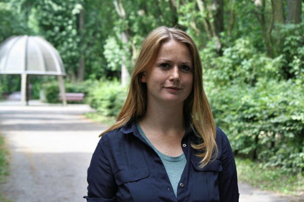 Direktkandidatin Jenny Neubert (Grüne). Foto: Andrei Schnell