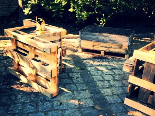 Hochbeet am Gemeinschaftsgarten