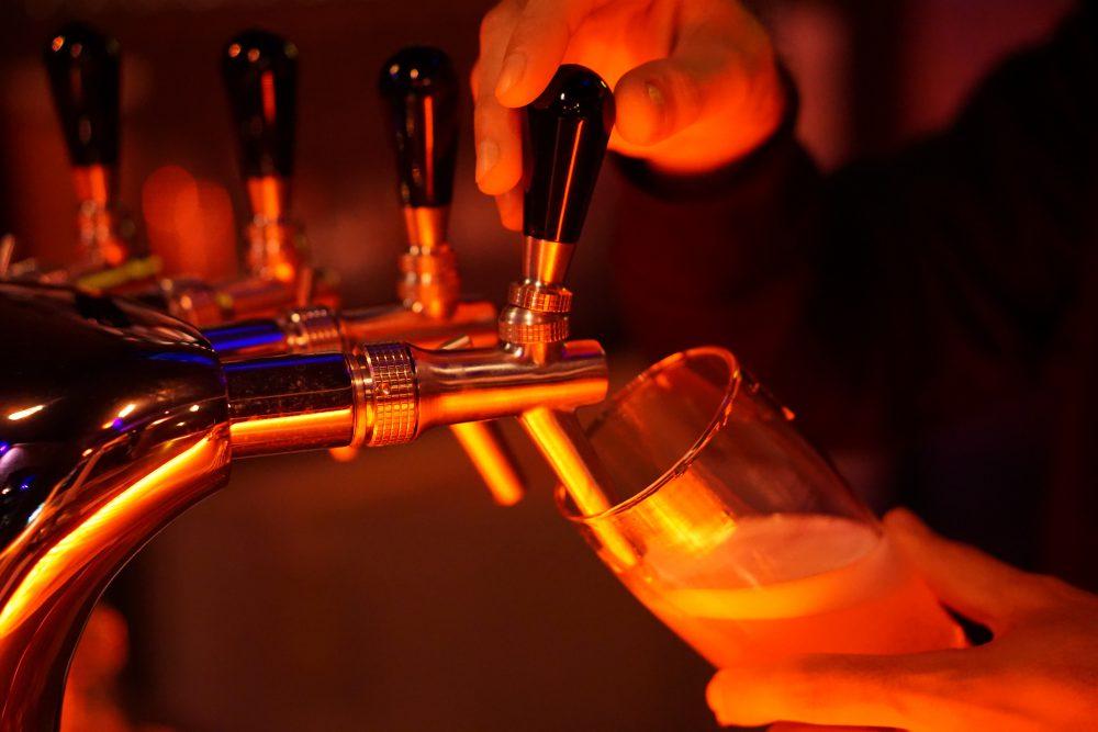 Bier Zapfanlage Flop Bar