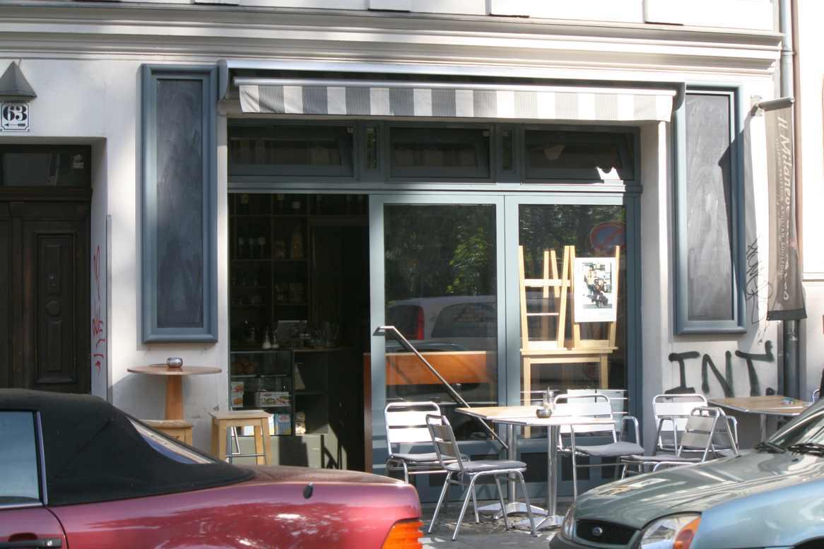 Italienisch: Klein, aber stark. Das Il Milanes del Tacco in der Stettiner Straße. Foto Andrei Schnell.