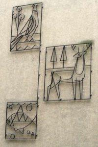 Tiere mit Metall gezeichnet. Foto Andrei Schnell.
