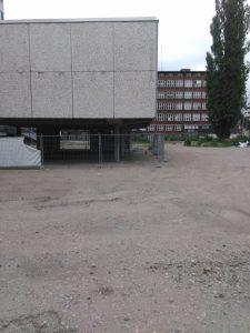 Rathaus Job-Center Baustelle