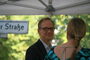 In Mitte Spitzenkandidat der CDU: Carsten Spallek. Foto Andrei Schnell.