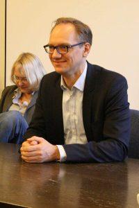 Carsten Spallek hat keine unwichtigen Ressorts. Foto Andrei Schnell.