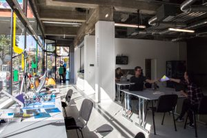 Ein Raum für Coworking und kreative Ideen. Foto: Happylab