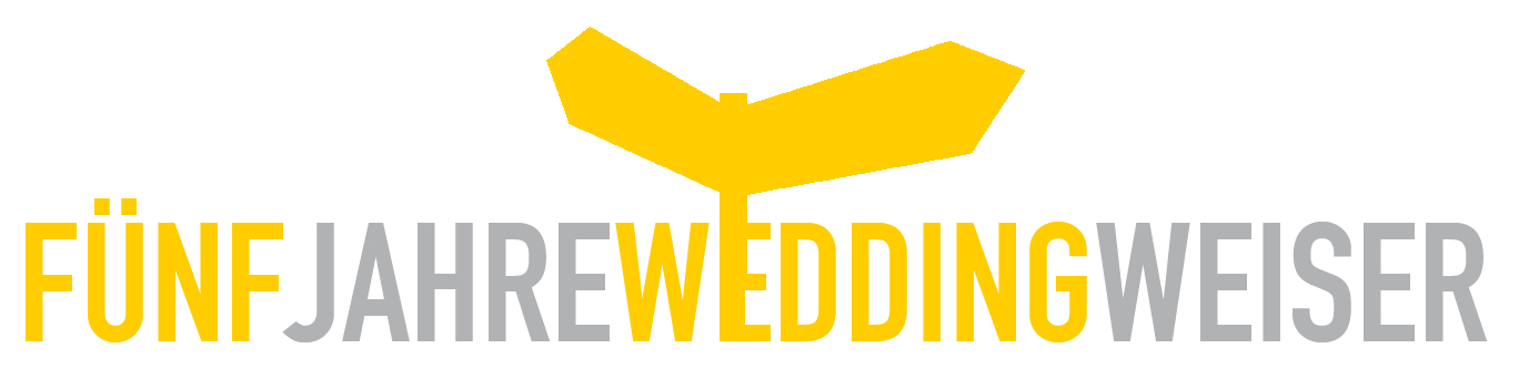 Logo 5 Jahre Weddingweiser