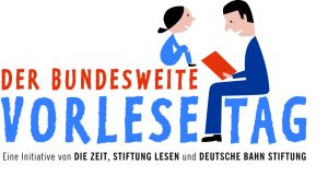 Das Logo des Vorlesetages.