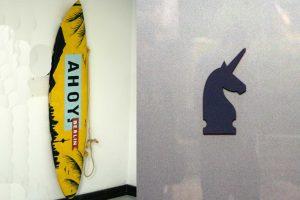 Ahoy versus Unicorn. Collage: Andrei Schnell