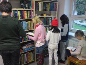 Die kleine Kinder- und Jugendbibliothek in der Literaturwerkstatt. Foto: Tuncay Gary