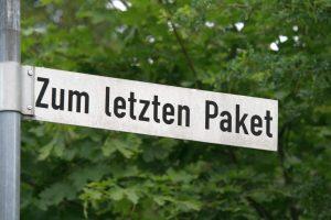 Keine Bange, die Soldiner Straße wird nicht umbenannt. Foto Andrei Schnell.