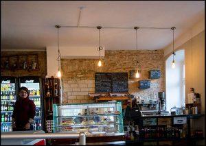 Café Desd, Lokal, Sulamith Sallmann