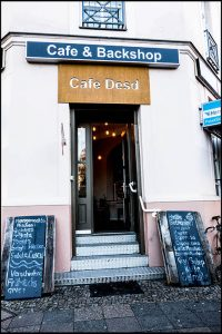 Café Desd, Lokal, Backshop, Sulamith Sallmann