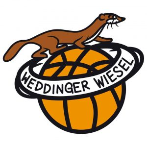 Das Logo des Basketballvereins Weddinger Wiesel. Foto: Verein