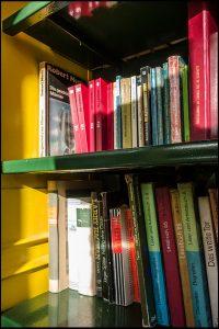 Bücherboxx, Osloer Straße, Büchertausch