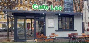 Eine feste Einrichtung: das neue Café Leo